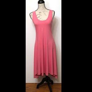 Ducci Pink stretch, Long sun dress, size L